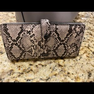 NWT Victoria Secret Snakeskin wallet